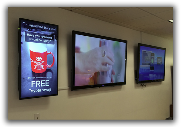 Pigeon Forge digital signage